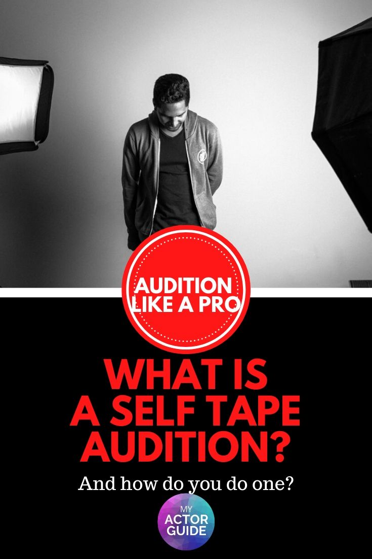 Actor self-tape audition advice. Learn how to record your own audition!