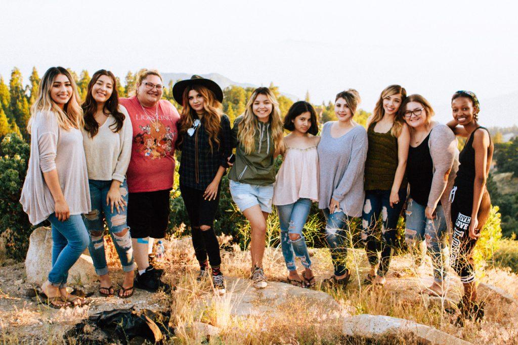group-of-girls-outside
