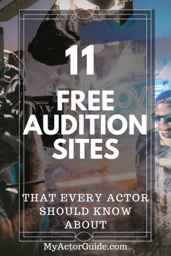 Find auditions online for free!