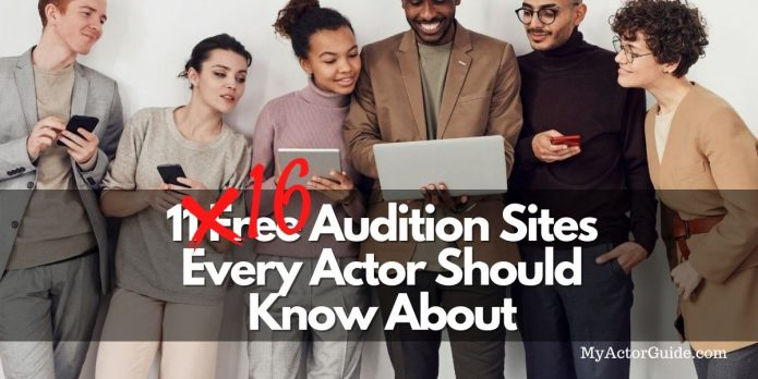 Audition listings for actors! Casting calls and more