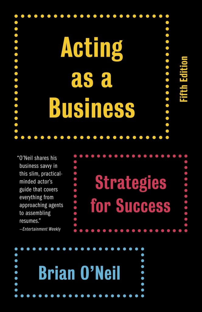 Acting As A Business, Brian O'Neil