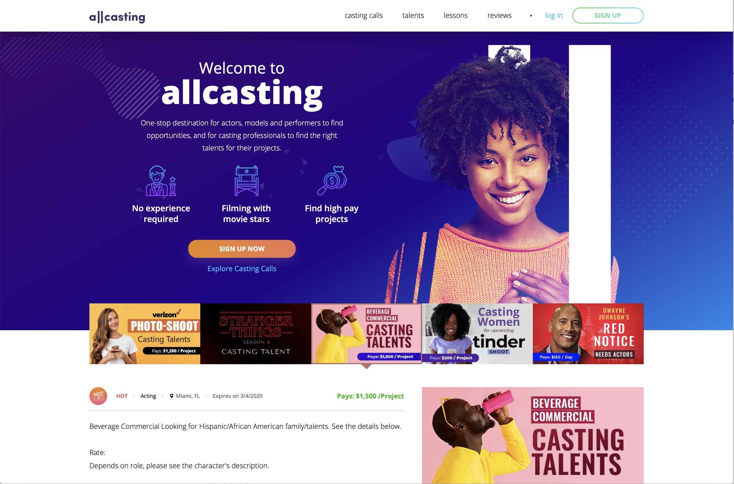 Find actor auditions online for free! See a full listing of the FREE AUDITION SITES for actors.