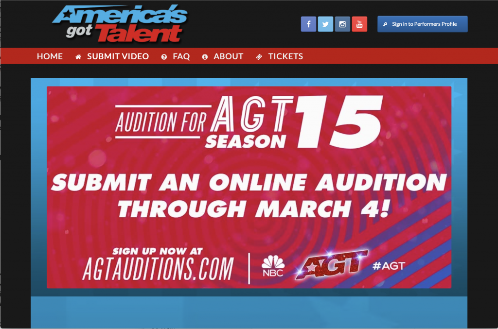Have you ever wanted to audition for America's Got Talent? Find out how !