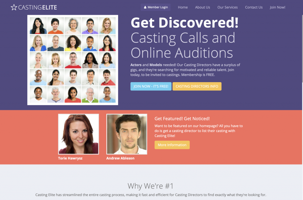 Are you looking for audition listings online? Find actor auditions here!