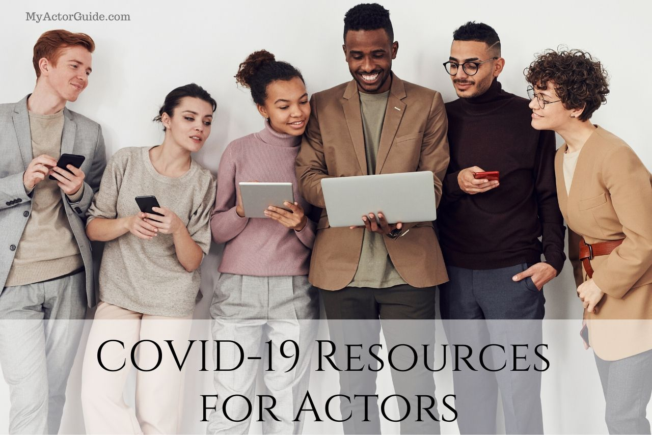 Covide-19. Coronoavirus updates and resources for actors