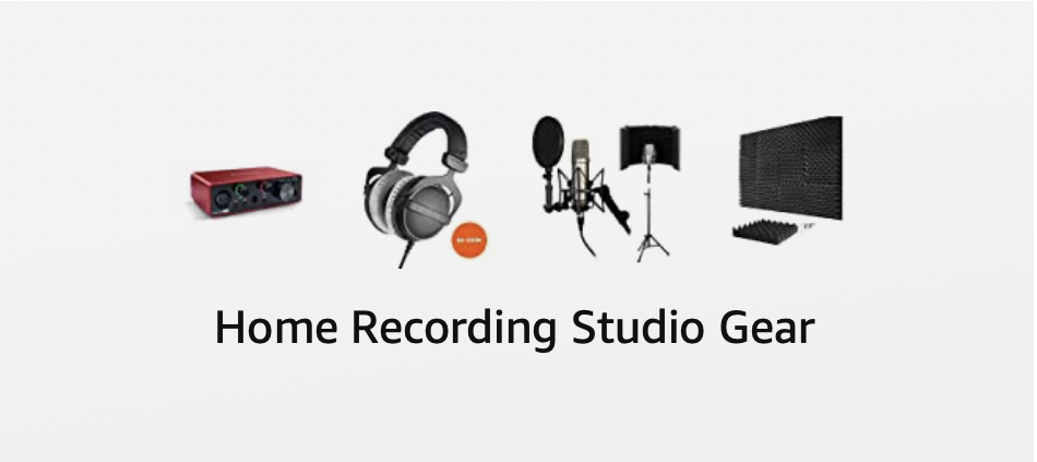 Want to start doing VoiceOver from home? Check out this gear to set up your home studio!