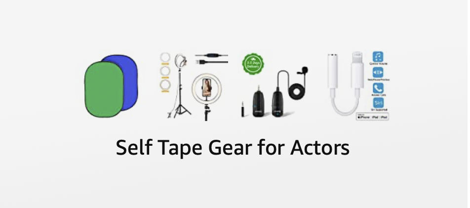 Self tape your auditions with the right equipment! Get what works for actors.