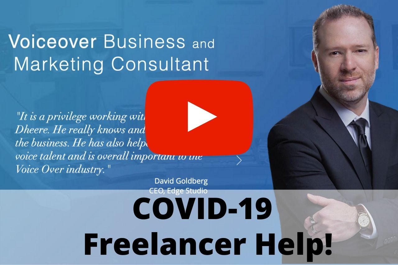 How Voice Actors & Freelancers Can Get COVID-19 Financial Assistance