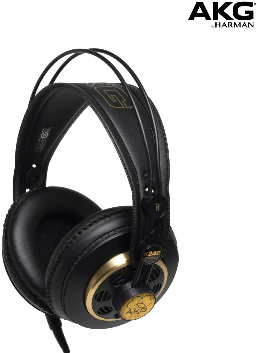 Headphones for VoiceOver artists professional recording studio at home. Home recording studio headphones.