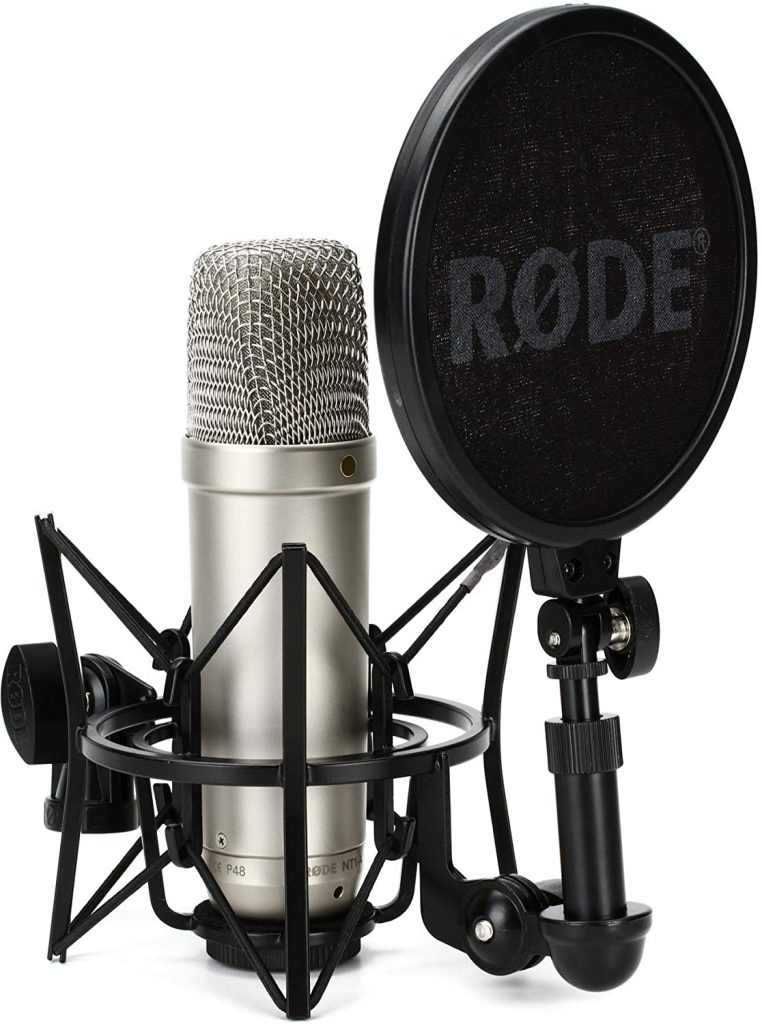 Professional microphone for home recording studio.Start recording voice overs  from home.