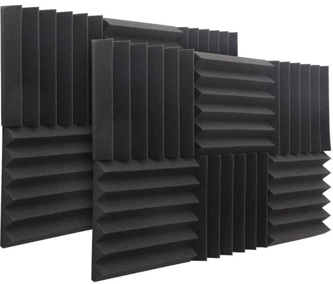 Soundproofing foam for doing voiceovers from home. et up your home recording studio.