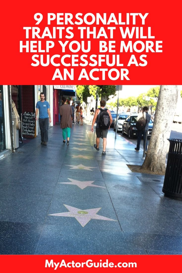 Learn how to be more successful as an actor. Top 10 personality traits of highly successful actors!