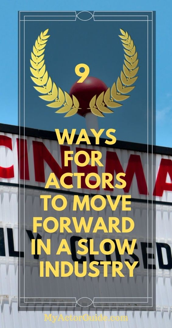 find out how actors can stay focused in a slow industry. Learn how to become an actor at MyActorGuide.com