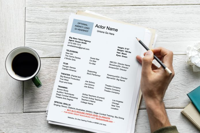 What goes on an actor resume? Download your FREE Actor Resume DOCX Template here! Find out exactly what you need to put on your resume as an actor.