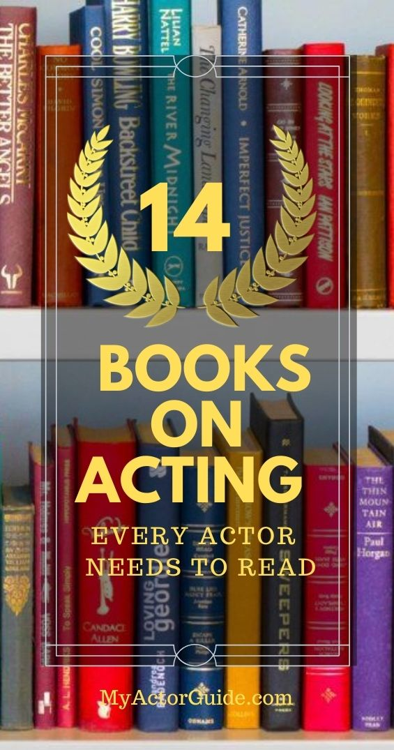 Learn how to act. How to become an actor with no experience. Book on acting to become an actor at any age.