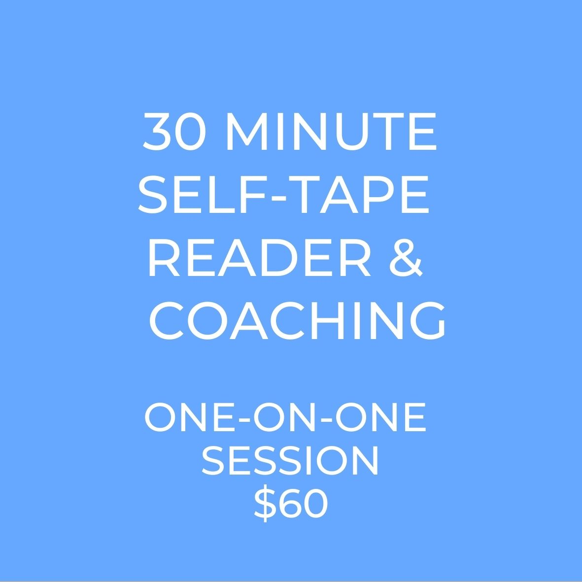 Self-Tapes for Actors. Learn how to self-tape your audition! Get audition coaching for actors.