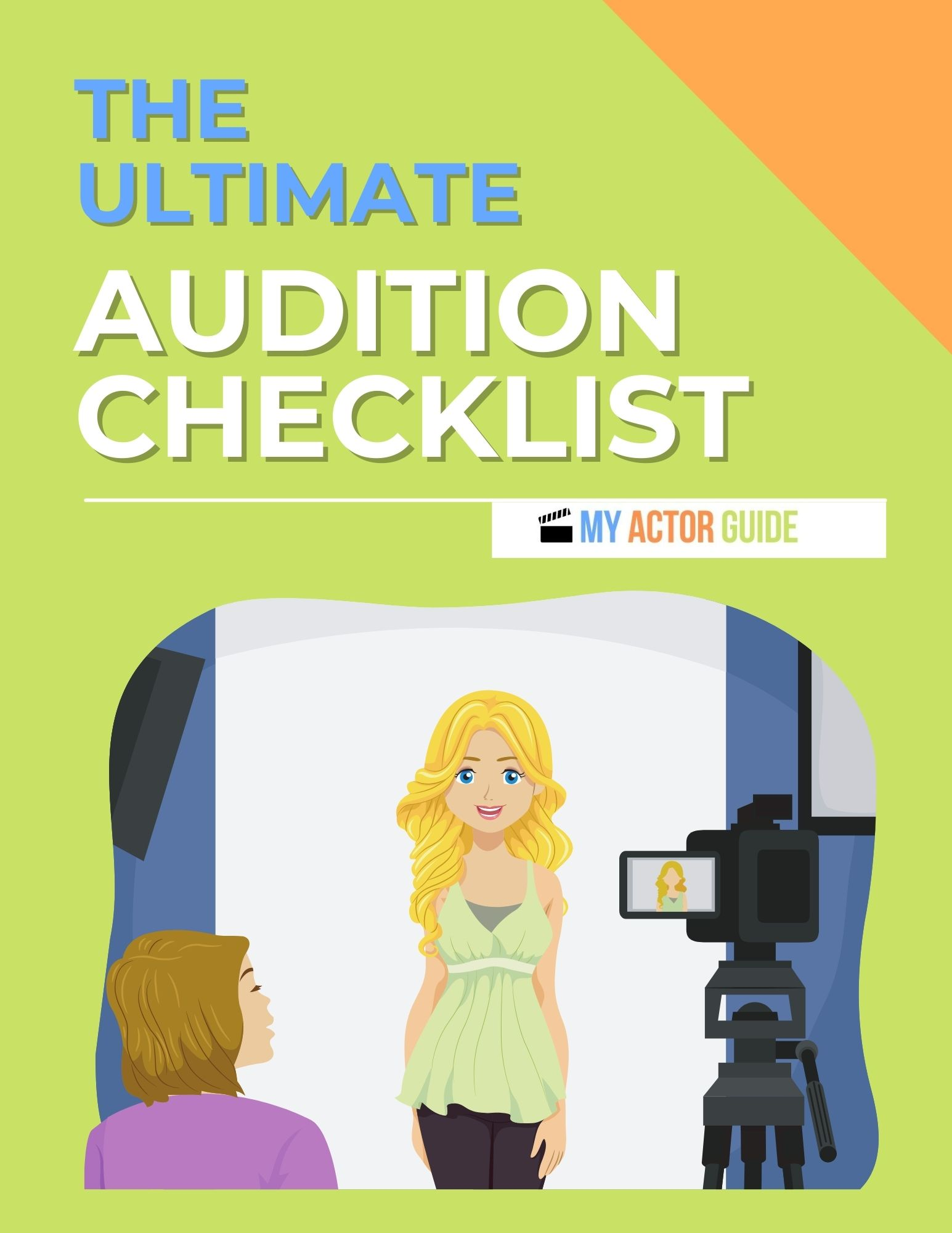 The Ultimate Audition Checklist for Actors. Learn how to audition and how to become an actor!