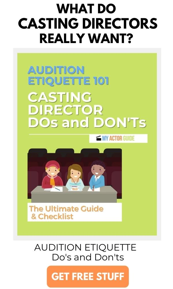 Learn what casting directors do and don't want in an audition. Audition Etiquette 101