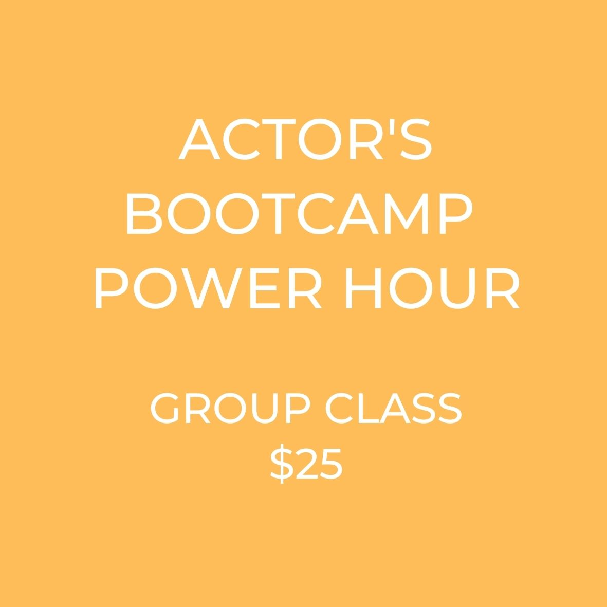 Become an actor! learn how in fun acting classes!! ! MyActorGuide.com