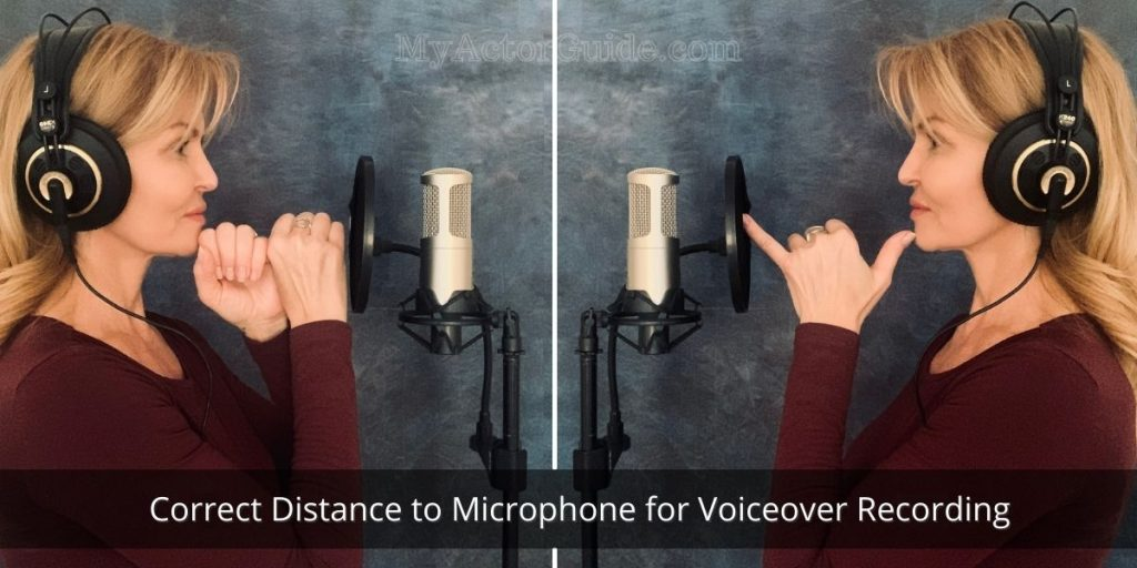 Microphone distance for VoiceOver recording. Learn how to set up your own home studio and become a voice over artist today! Find out more at MyActorGuide.com