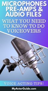 To make money doing voiceovers you have to get a few technical things right: microphones, pre-amps and audio files. Theses are the biggest mistakes that I see new voice actors make!