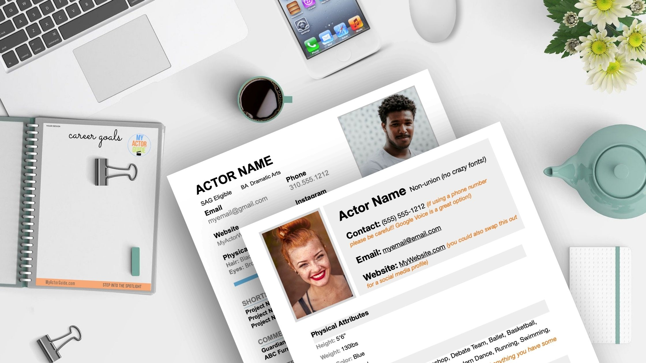 Actors Resume Templates. Download your resume for actors template now! Resumes for new actors with no experience.