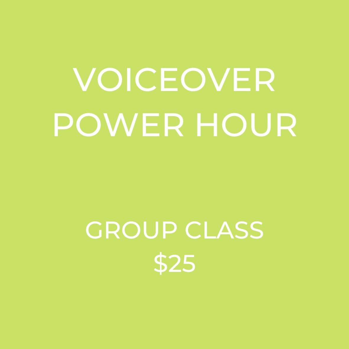 Break into voiceovers! Learn how to start working in VoiceOver now!