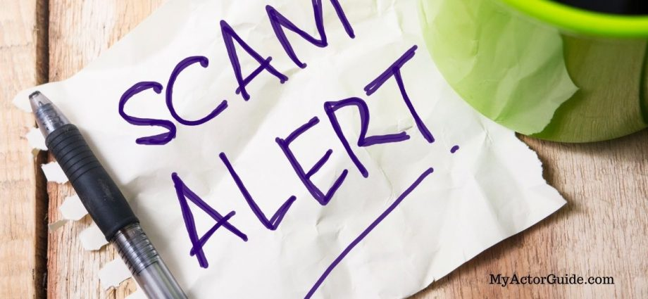 How to spot a casting scam. Actors beware! Here are the top 10 sings of an acting scam and how to avoid them