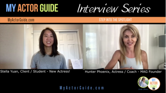 Video interview! Learn how to become an actor with no experience